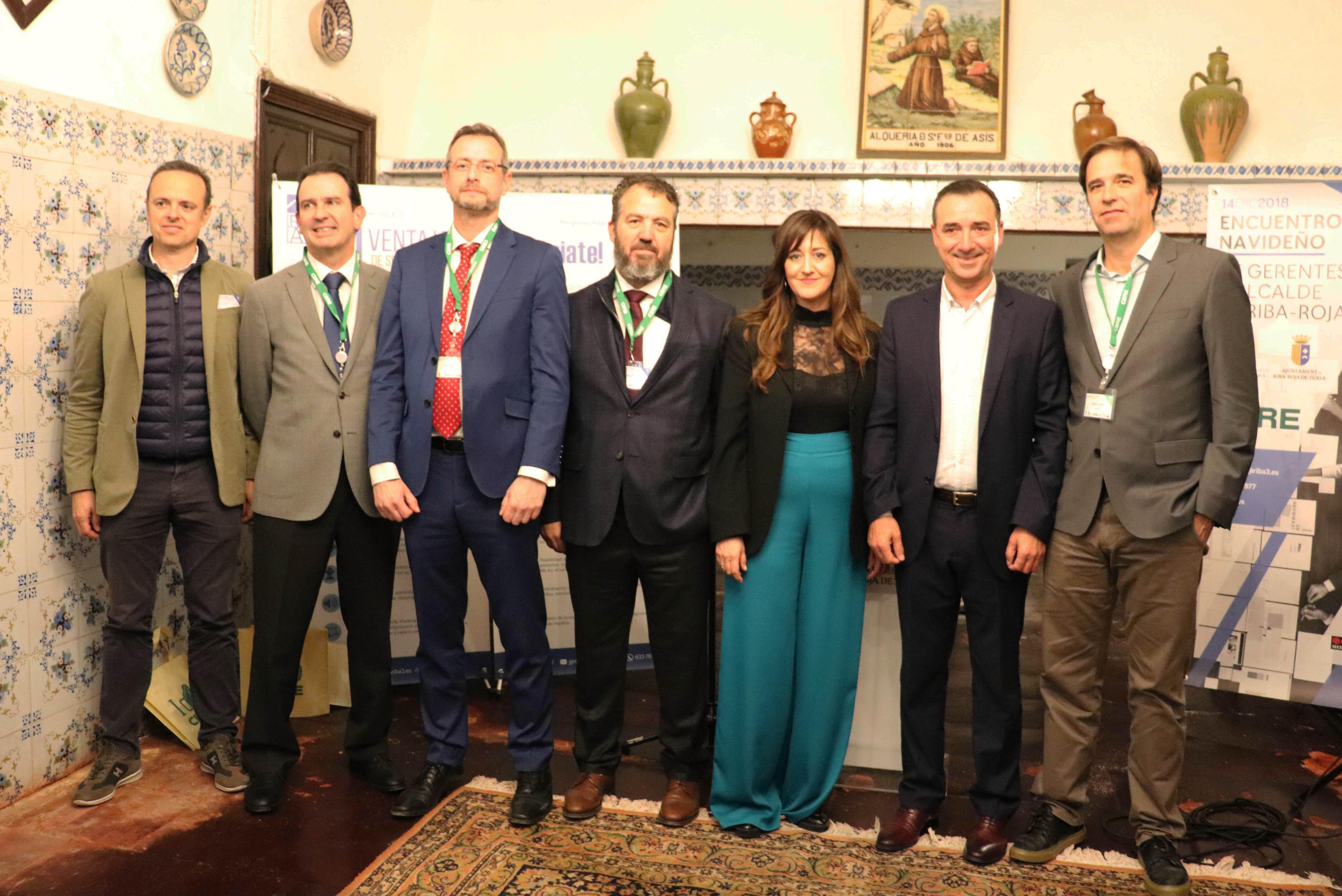Encuentro Navideño de Gerentes y Alcalde de Riba-roja 2018