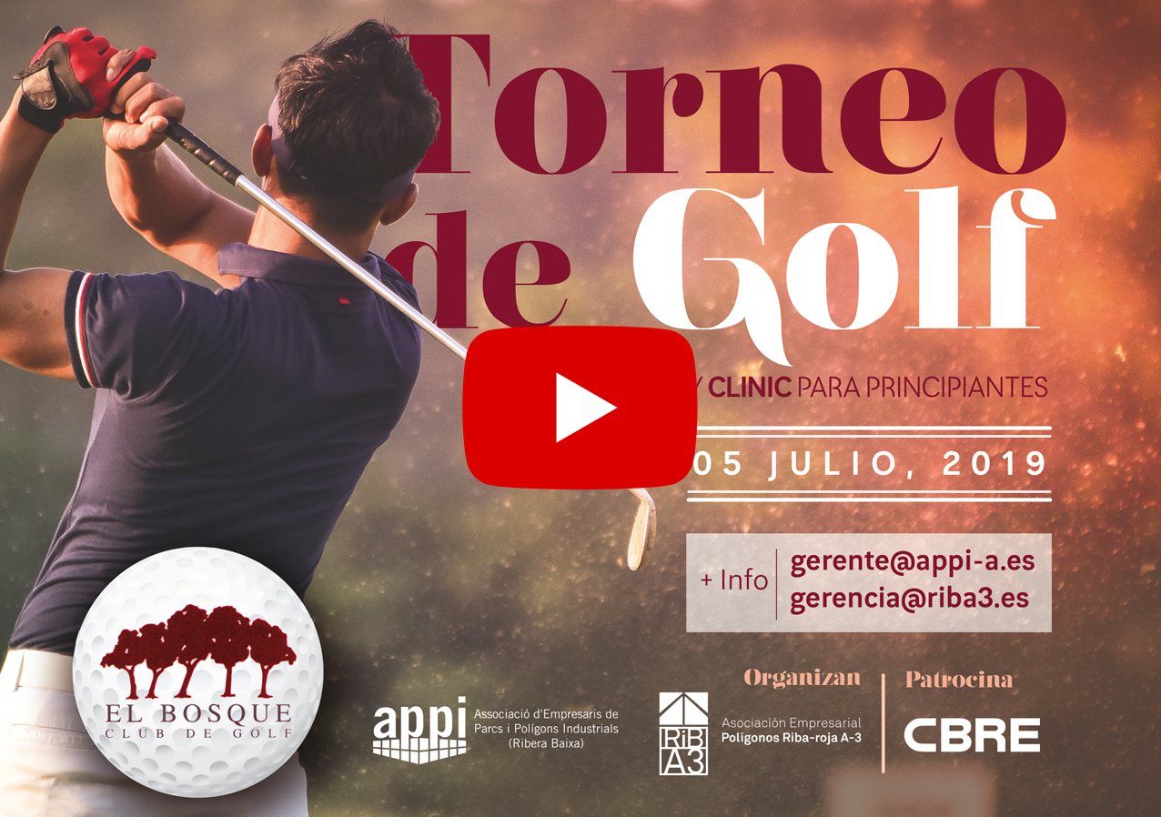 Vídeo ``Torneo de Golf Áreas Industriales`` 05/07/2019